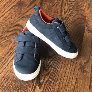 GAP Gently Used Navy Toddler Sneakers